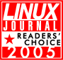 Linux Journal 2005 Readers' Choice